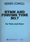 HAL LEONARD Cowell, Henry: Hymn & Fuguing Tune 7 (viola & piano)