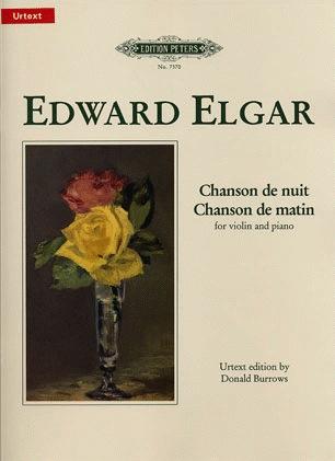 Elgar, Edward: Chanson de Nuit/Matin (violin & piano)