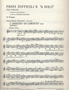 HAL LEONARD Fantini, Franco: Difficult Passages & Solos for Violin from Italian Opera Bk.1