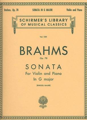 HAL LEONARD Brahms, J.: Sonata Op.78 in G major (Violin & Piano)