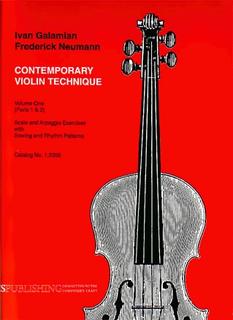 Galaxy Music Galamian & Neumann: Contemporary Violin Technique, Vol.1 (violin)