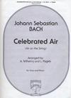 Carl Fischer Bach, J.S.: Celebrated Air (viola & piano)