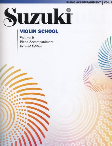 Alfred Music *OUT OF PRINT* Suzuki: Violin School, Vol.9 (piano accompaniment)