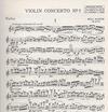HAL LEONARD Bartok, B.: Violin Concerto No. 1 op.post. (Violin & Piano)