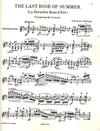 HAL LEONARD Ernst, W.H.: The Last Rose of Summer (violin solo)