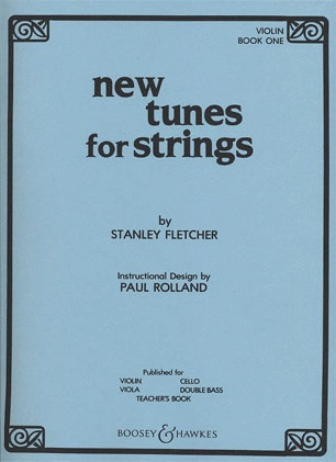 HAL LEONARD Fletcher, S.: New Tunes for Strings Volume 1 (violin)