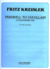 Carl Fischer Kreisler, Farewell to Cucullain;Londonderry Air (violin & piano)