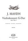 HAL LEONARD Haydn, F.J. (Halasz): Violin Concerto in G (violin & piano)