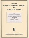 Forbes, Watson: A Second Book of Scales and Arpeggios for Viola Players Bk.2 of 3