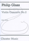HAL LEONARD Glass: Violin Concerto No.2 - ''American Four Seasons'' (violin) Chester Music