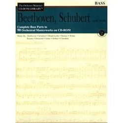 HAL LEONARD Orchestra Musician's Library: Vol.1 Beethoven, Schubert & More (bass)