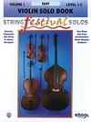 Alfred Music Applebaum, Samuel: String Festival Solos Vol.1 (violin)