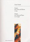 Franck, Cesar: Sonata for in A Major Viola & Piano