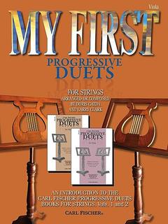 Carl Fischer Gazda, Doris: My First Progressive Duets (2 violas)