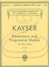 HAL LEONARD Kayser (Svecenski): 36 Elementary & Progressive Studies, Op. 20 (violin) Schirmer