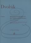 HAL LEONARD Dvorak (Kordt-Dauner): Romance in F minor, Op.11 - URTEXT (violin & piano)