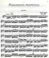 Carl Fischer Paganini, N.: Movimento Perpetuo (violin & piano)