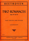 International Music Company Beethoven, L .van (Francescatti): Two Romances Op.40 & 50 (violin & piano) IMC