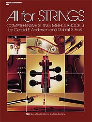 Anderson & Frost: All for Strings, Bk.3 (piano accompaniment)