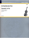 Hindemith, Paul: Sonata in Eb Op11#1 (violin & piano)