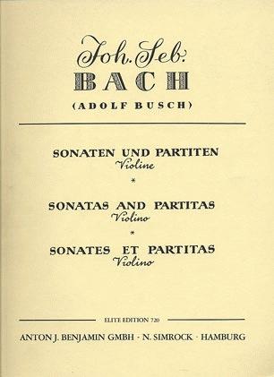 HAL LEONARD Bach, J.S.: Sonatas & Partitas (violin solo)