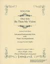 Heffler, Rich: Be Thou My Vision (violin & piano)