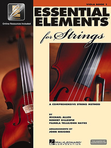 HAL LEONARD Allen, Gillespie, & Hayes: Essential Elements Interactive, Bk.1 (viola, online resources included)