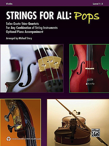 Alfred Music Story, Michael: Strings for All-Pops (3 violins)