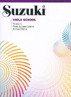 Alfred Music Suzuki: Viola School Vol 5 (piano accompaniment)