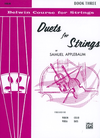 Alfred Music Applebaum, Samuel: Duets for Strings, Book Three (2 violins) Alfred