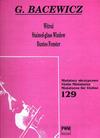 Carl Fischer Bacewicz, Grazyna: Stained Glass Window (violin & piano)