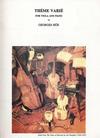 LudwigMasters Hue, Georges: Theme Varie (viola & piano)