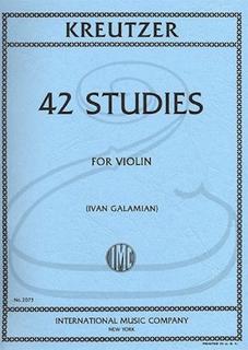 International Music Company Kreutzer (Galamian): 42 Studies (violin) International