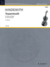 HAL LEONARD Hindemith, P. (Breuer, arr.): Trauermusik (violin and organ)