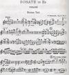 LudwigMasters Hindemith, Paul: Sonata in Eb Op11 No. 1 (violin & piano)