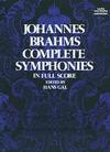 Dover Publications Brahms: (score) Complete Symphonies (full orchestra) Dover Publications