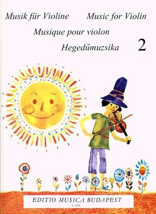 HAL LEONARD Lenkei, Gabriella: Music for Violin-Beginners Vol.2 (violin & piano)