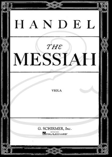 HAL LEONARD Handel (Prout): The Messiah (viola) Schirmer