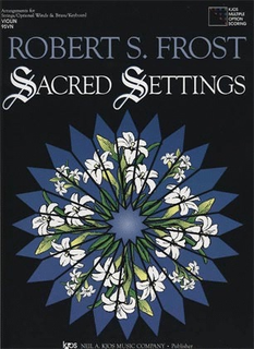 Frost, Robert: Sacred Settings (3 violins)