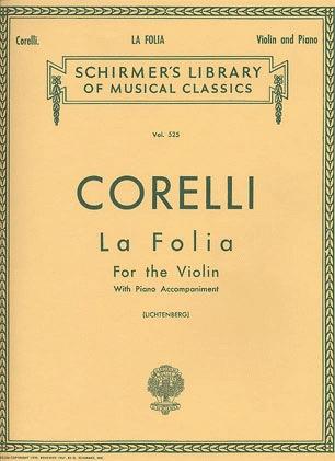 HAL LEONARD Corelli, Arcangelo: La Folia Variations (violin & piano)