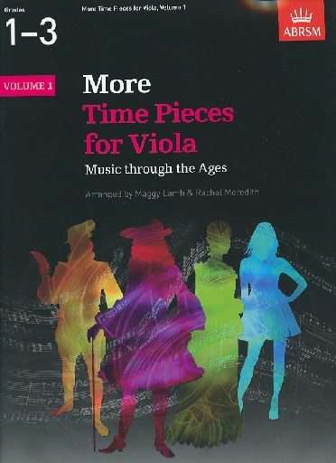 Lamb, M/Meredith, R. (arr.): More Time Pieces for Viola, Grades 1-3 (viola and piano)
