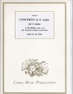 Bohm, J.M.: Concerto in G Major (2 violas/piano/cello optional)