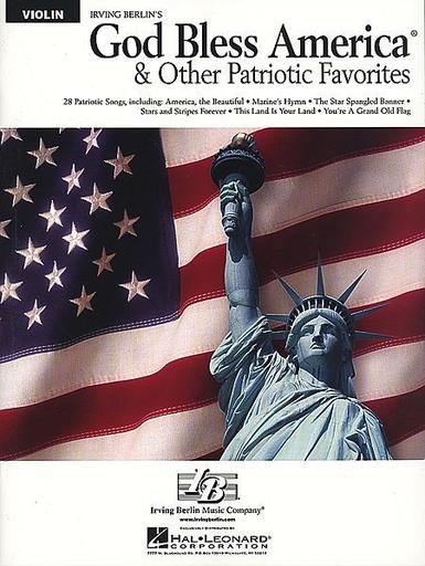 HAL LEONARD Berlin, Irving: God Bless America and Other Patriotic Favorites (violin)