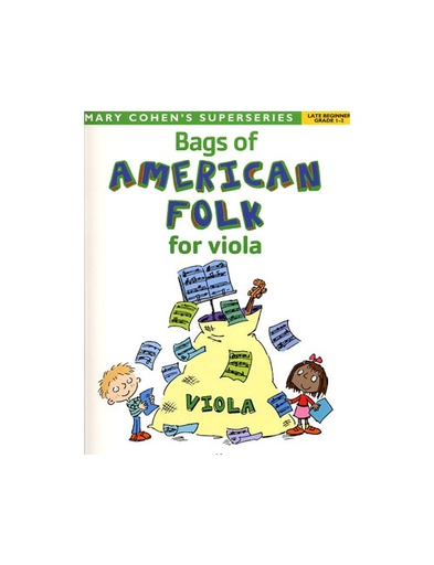 Faber Music Cohen, Mary: Bags of American Folk Tunes for Viola- (viola)