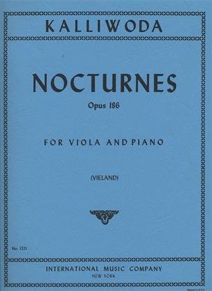 International Music Company Kalliwoda, J.W.: 6 Nocturnes Op.186 (viola & piano)