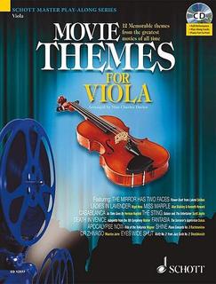 Schott Music Davies, Max Charles: Movie Themes for Viola (Viola & CD)