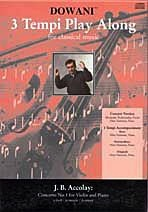 Accolay, J.B. (Dowani): Concerto #1 in a mi (Violin & CD)
