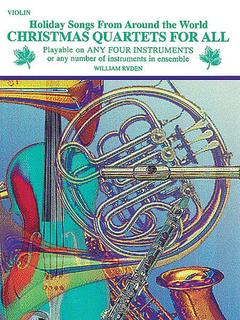 Alfred Music Ryden, W.: Christmas Quartets For All (four violins)