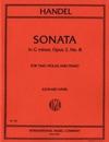 International Music Company Handel, G.F.: Sonata in G minor Op.2 #8 (2 violas & piano)