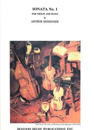 LudwigMasters Honegger, Arthur: Sonata No.1 (violin & piano)